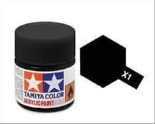 Tamiya Mini X01 BLACK - Acrilico Lucido 10ml