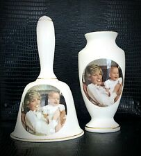 Princess Diana & Prince William Of Wales Commemorative 1st Birthday Set