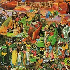 NEW CD Album Iron Butterfly - Live (Mini LP Style Card Case)