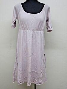 NEW Da-Nang Women's Dress Round Neck Tie Back Adjustable NAPA CFG769 X-SMALL XS
