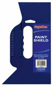 SupaDec Hand Held Paint Shield Guard Ideal For Painting Windows Doors Skirting