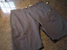 NWT - Mens VOLCOM Navy Blue Flat Front Shorts (Size 38)