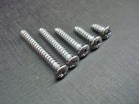 "100 screws #339 Ford Truck Chrome #8 Oval Head Trim Screws 3//8/"" to 1/"" Long"