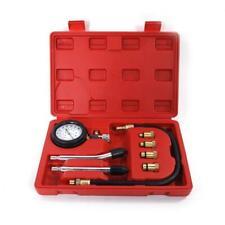 8pcs Engine Compression Cylinder Pressure Tester Gauge Multi-function Tool Set