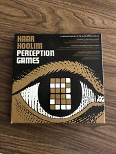 RARE Haar Hoolim Perception Games (1968) NEW NEVER PLAYED