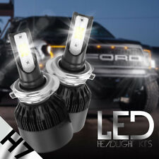 CREE H7 195000LM 1300W Fanless LED Headlight Kit High or Low Beam Bulb 6000K Car