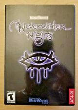 Neverwinter Nights (Windows PC, small box, Bioware / Atari, D&D)