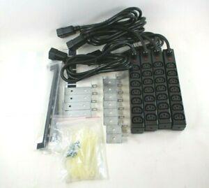 HP 417585-002 Modular PDU Extension Bar 7 Outlet Power Strip - Lot of 4