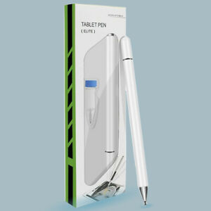 White Precision Fine Tip Professional Stylus Pencil for Apple iPad Pro Air Tab