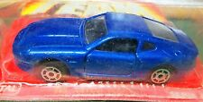ASTON MARTIN Majorette Blue On Original Card 3 Inch Long Aston Martin