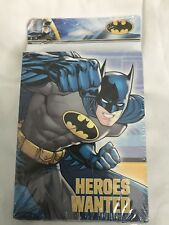 8 DC Batman Comic Birthday Party Invite Invitations Cards plus Envelopes