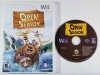 ¤ Open Season ¤ Game GREAT Nintendo Wii No Manual