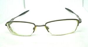 Oakley SCULPT 6.0 Brushed Chrome 74-918NC 8G 53-18-142 Eyeglasses Frames