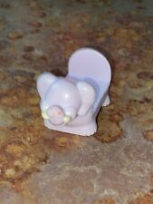 Vintage Mini Elephant Bed Figure Toy 2 inches