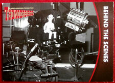 THUNDERBIRDS Series 2 - Card #36 - BEHIND THE SCENES - Unstoppable Cards 2018