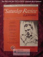 SATURDAY REVIEW July 26 1941 HOWARD FAST FRANZ KAFKA Oliver La Farge
