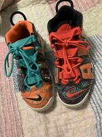 Nike Air More Uptempo GS  SIZE 4.5y AT3408-800 What The 90's Pack BG Orange