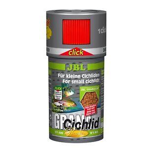 JBL GranaCichlid (CLICK) 100ml-Hauptfuttergranulat für Buntbarsche und Cichliden