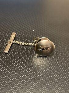 Pristine Vintage Sterling Silver Tie Pin/Tac/Tack