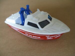 MATCHBOX SUPERFAST POLICE LAUNCH MADE IN CHINA 1978