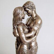 Celtic amoureux-Sculpture en bronze
