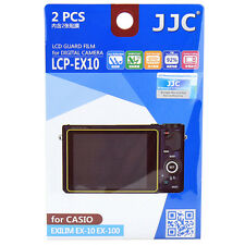 2x Film LCD Screen Display H3 Hard Protection for Casio Exilim EX-10 EX-100