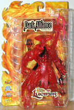 Dark Alliance Series 1 Clear Red Hellfire Lucifer Previews Exclusives MOC VHTF