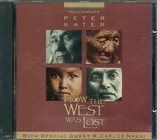 CD BOF / OST SERIE TV--HOW THE WEST WAS LOST--PETER KATER/CARLOS NAKAI