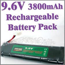 1 pcs 9.6V 3800mAh Ni-MH Rechargeable Battery Pack RC