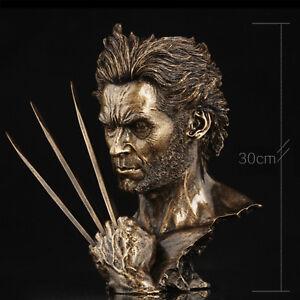 X-Men Wolverine - Hugh Jackman Büste Statue Figure Vintage Dekoration Neu