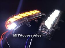 For Toyota HILUX VIGO 2012-2014 LED sequential turn signal+parking+puddle light