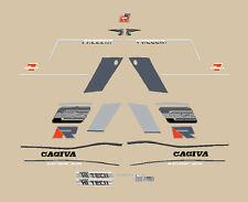 CAGIVA C 12 R FRECCIA SERIE  ADESIVI STICKERS