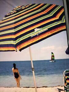 Tommy Bahama Sunblocking  Beach Umbrella NEW