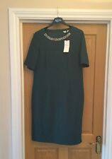 Bnwt £ 65 m&s Femmes Taille 12 Robe Smart races mariage Workwear