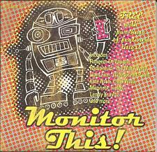 RARE PROMO CD w/ RADIOHEAD Lenny Kravitz MARS VOLTA Widespread Panic GARY LOURIS