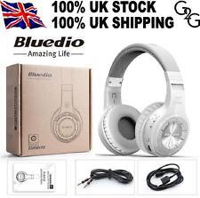 Bluedio NEW H Turbine Bluetooth 4.1 Wireless Stereo Headphones Headsets White