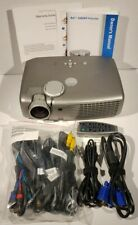 Dell 2300Mp DLP 1080p Projector Home Movie or Office - Case Cable Remote Tested