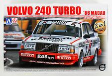 Aoshima 98257 Volvo 240 Turbo '86 Macau Guia Race Winner 1/24 scale kit