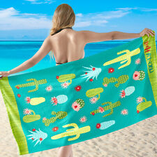 "Microfiber Beach Bath Towel 58""x28"""