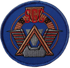 "Stargate Command SGC Main SG-1 Logo 3 1/2"" Wide Embroidered Patch"