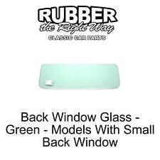 1955 - 1959 Chevy / GMC Truck Rear Window Glass - Green - Small Glass FREE SHIP