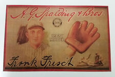 """Spalding Frank Frisch Glove Trolley-Size Ad Piece (Reproduction) 11"""" x 17 3/16"""""""