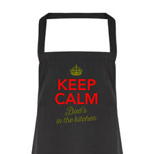 Dad Gift Apron Funny Personalised Keepsake Cooking Present Cotton Twill Dad