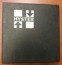 HYSTER FORKLIFT MANUAL 207-133 (LE000101)