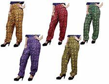 Apparels India 10Pc Cotton Trousers USA Flower Harem Hippie Pants Wholesale Lot