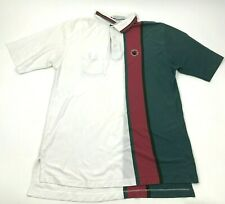 VINTAGE Izod Pinetop Country Club Shirt Size Extra Large XL Green White Polo 90s