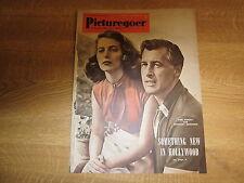 January 1952, PICTUREGOER, Pier Angeli, Stewart Granger, Moira Shearer.