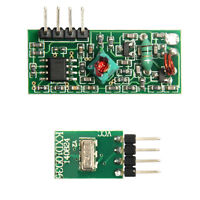 433Mhz RF transmitter & receiver kit for Arduino Geeetech Iduino HQ Good Service