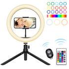 "8"" Selfie Portable 120 LEDs Phone Ring-Fill Light Lamp Camera Photo  Video Live"