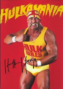 Hulk Hogan Autographed signed photo